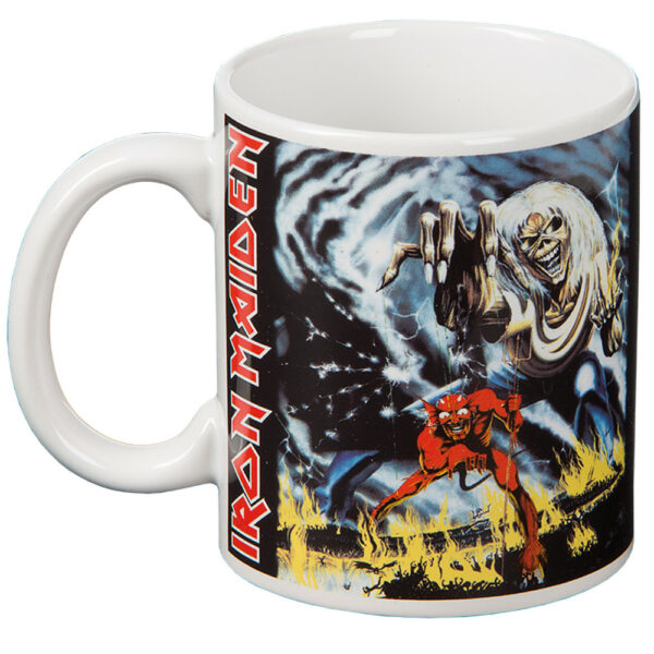 Iron Maiden - Mugg - Number Of The Beast