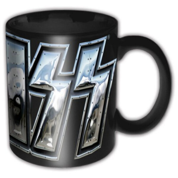 KISS - Mugg - Chrome Logo
