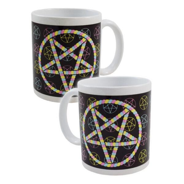 Darkside - Mugg - Pastel Pentagram