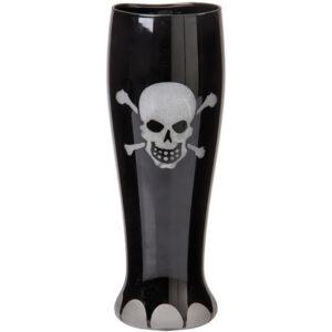 Joker - Ölglas - Dödskalle