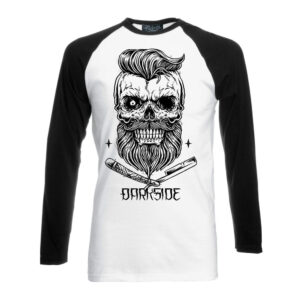 Darkside - Långärmad T-shirt - Bearded Skull