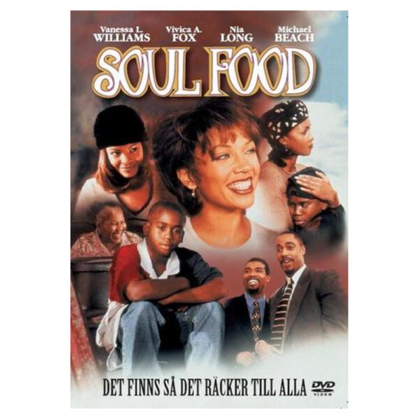 Soul Food - DVD - Komedi med Vanessa Williams, Vivica A. Fox