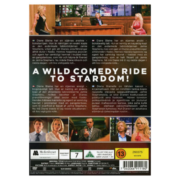 Hollywood and Wine - DVD - Komedi med Pamela Anderson