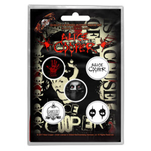 Alice Cooper - Button Badge Pack