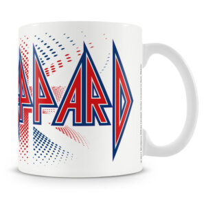 Def Leppard - Mugg - UK Flag