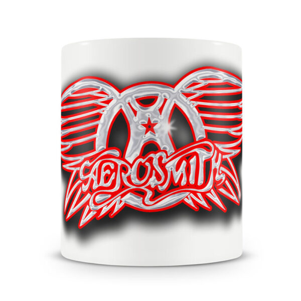 Aerosmith - Mugg - Metallic Logo