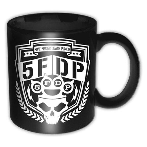 Five Finger Death Punch - Mugg - Shield