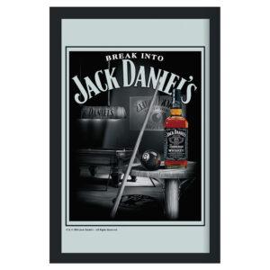 Jack Daniel's - Spegeltavla / Pubspegel / Barspegel - Pool table