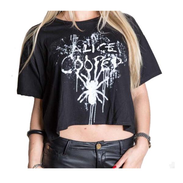 Alice Cooper - Dam T-shirt - Spider Splatter
