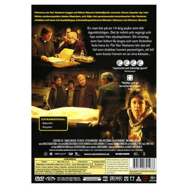 Van Veeteren: Carambole - DVD - Thriller med Sven Wolter