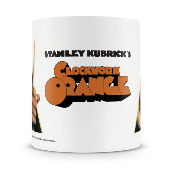 A Clockwork Orange - Mugg - Orange Poster