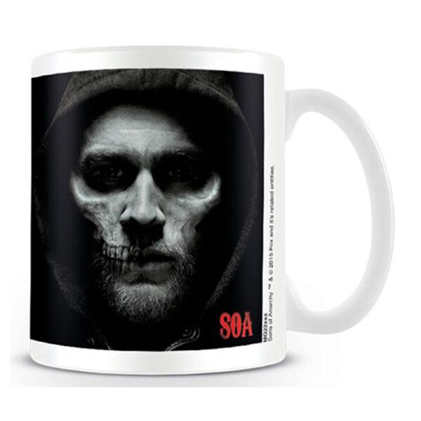 Sons of Anarchy - Mugg - Jax Skull