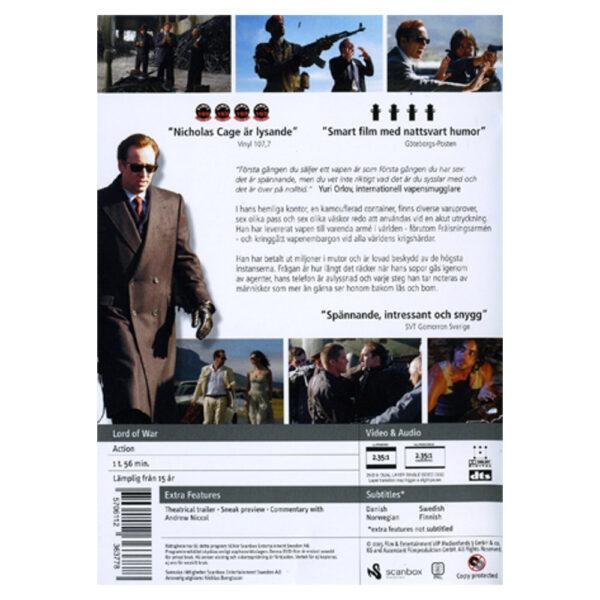 DVD - Lord of War - Action - Nicolas Cage Nicolas Cage, Ethan Hawke, Jared Leto