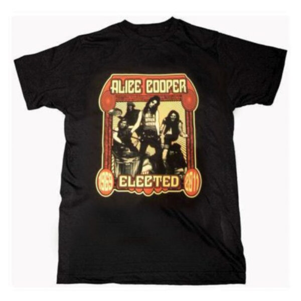 Alice Cooper - T-Shirt - Elected Band
