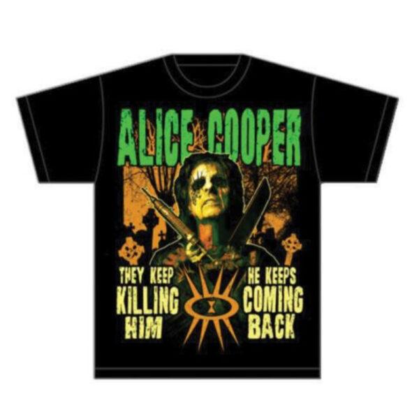 Alice Cooper - T-Shirt - Graveyard