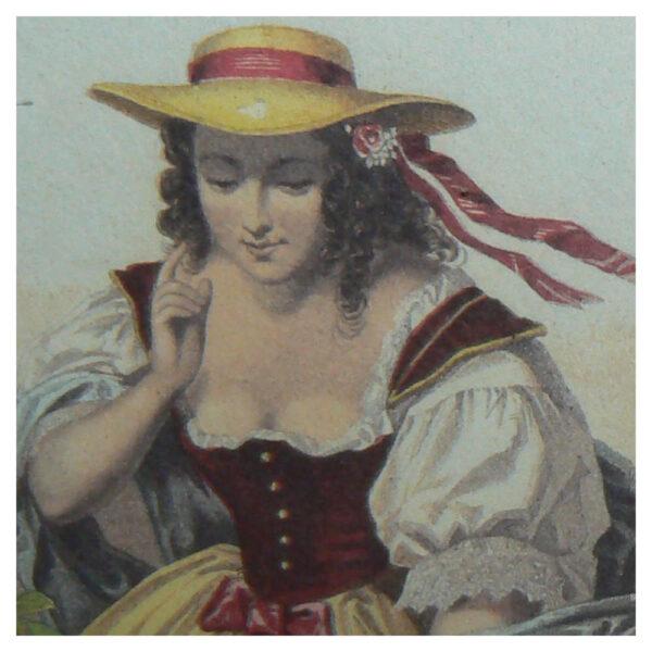 Grafiche Tassotti - Tavla med flicka nr. 346