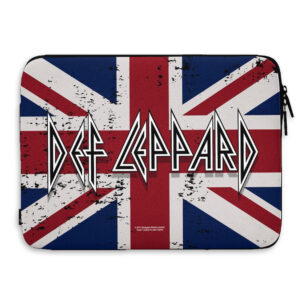"Def Leppard - Laptopfodral 15"" - Union Jack Flag"