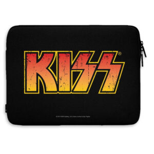 "Kiss - Laptopfodral 13"" - Distressed Logo"