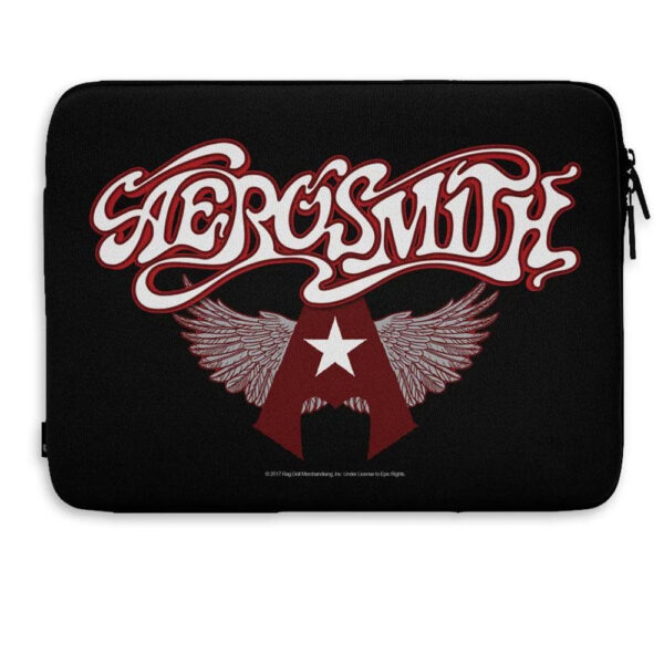 "Aerosmith - Laptopfodral 15"" - Flying A Logo"