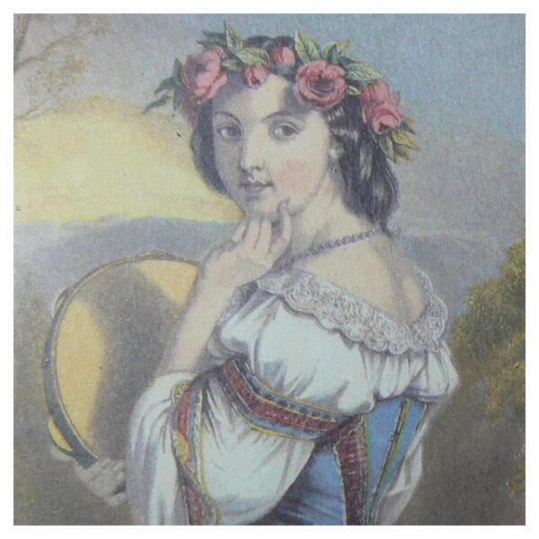 Grafiche Tassotti - Tavla med flicka nr. 345