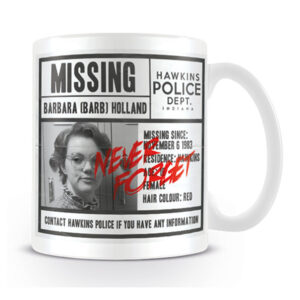 Stranger Things - Mugg - Missing Barb