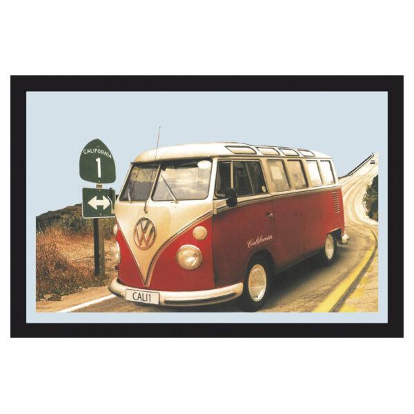 VW Buss (Folkabuss) - Spegeltavla / Pubspegel / Barspegel