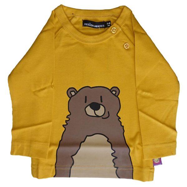 Design Heroes - Babytröja - Grizzlybjörn
