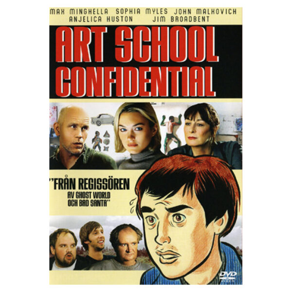 Art School Confidential (DVD) Dramakomedi med Max Minghella