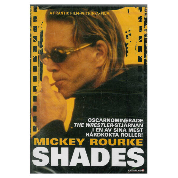 Shades (DVD) Thriller med Mickey Rourke