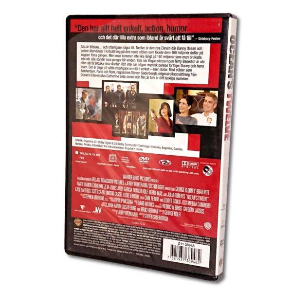 Ocean's Twelve - DVD - Komedi - Brad Pitt