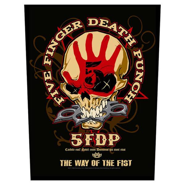 Five Finger Death Punch - Ryggmärke - Way Of The Fist
