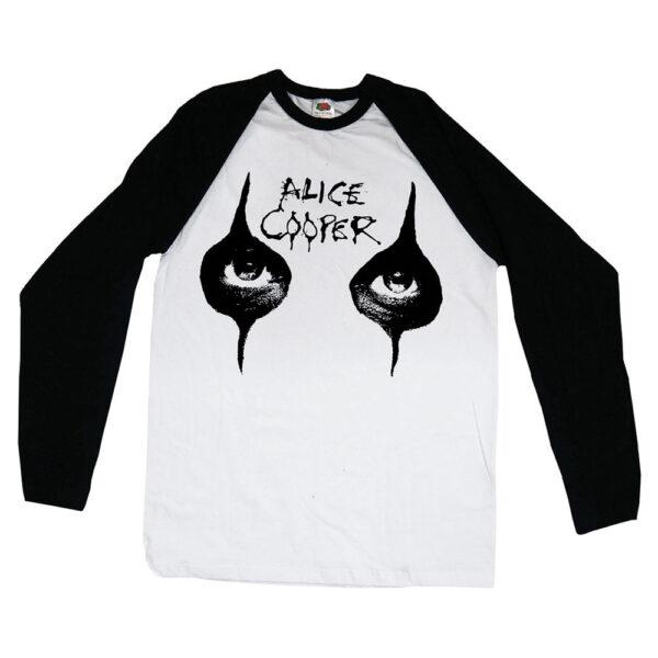 Alice Cooper - Långärmad T-Shirt - Eyes