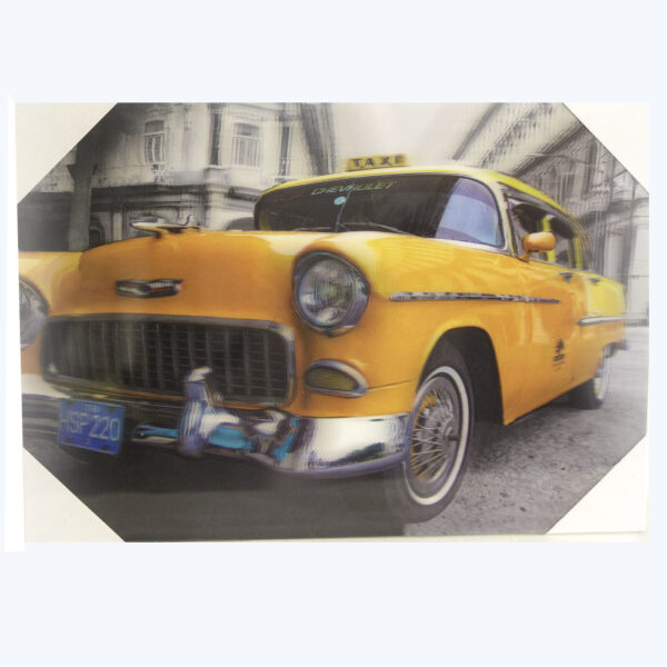 Inter - 3D-Tavla - Chevrolet taxi