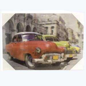 Inter - 3D-Tavla - 50-tals bilar