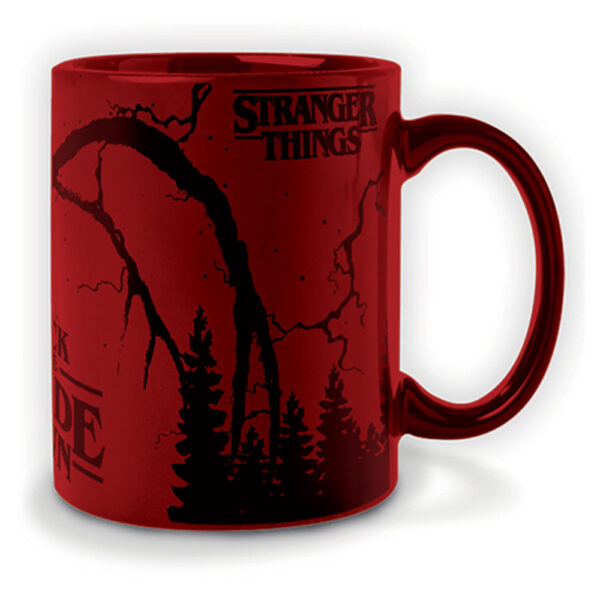 Stranger Things - Metallic Mugg - Mind Flayer