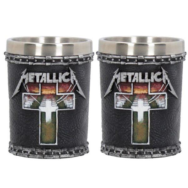 Metallica - Shotglas - Master of Puppets - 2-pack