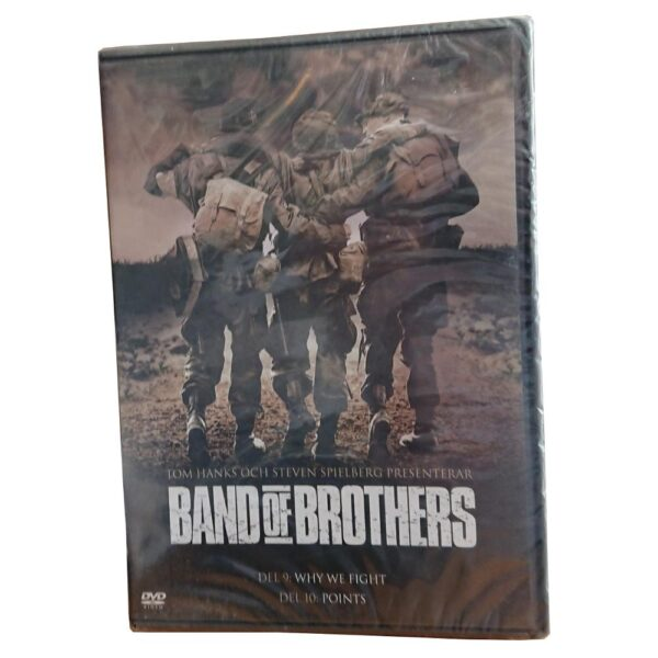 Band of Brothers: Del 9-10 - DVD- Krigsserie - Kirk Acevedo