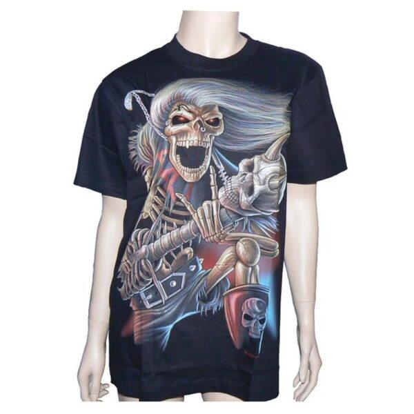 Hero Buff - T-Shirt - Dödskalle