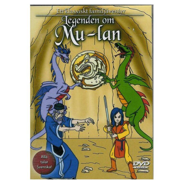 Legenden Om Mulan – DVD – Tecknad barnfilm