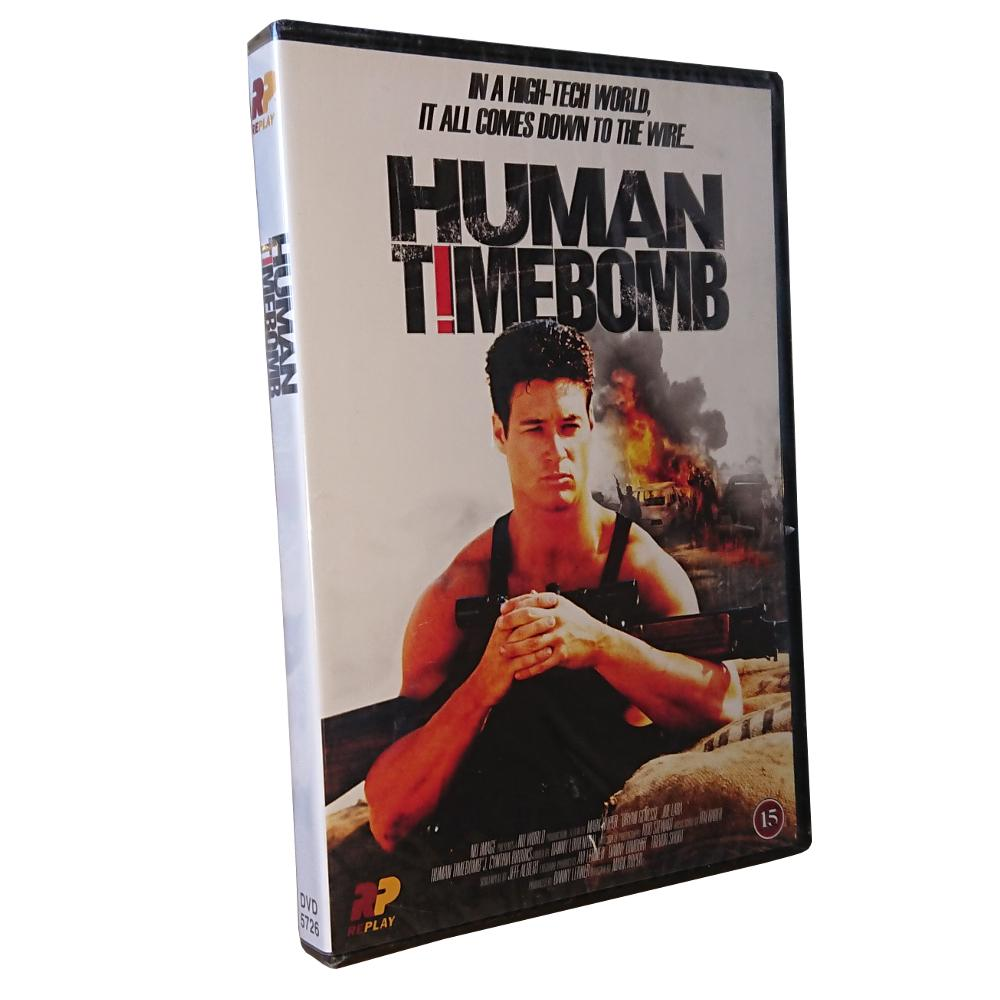 Human Timebomb – DVD – Action – Bryan Genesse