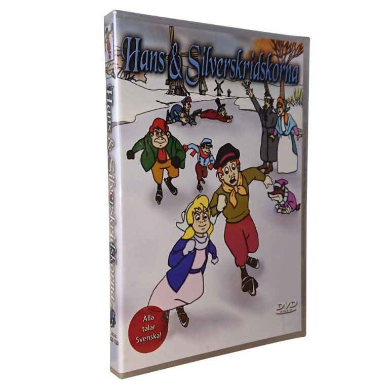 Hans & Silverskridskorna – DVD – Tecknad barnfilm