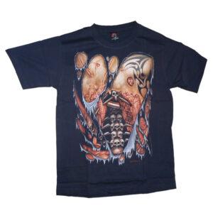 Hero Buff - T-Shirt - Dödskallar - Ryggrad