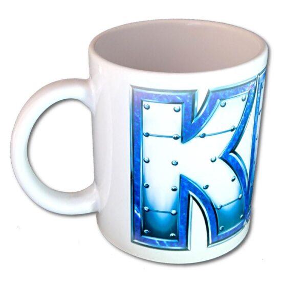 Kiss - Mugg - Metal Logo