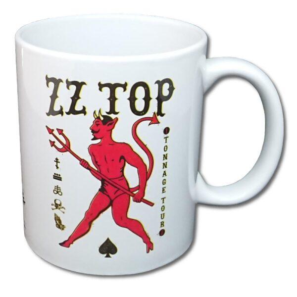 ZZ-Top - Mugg - Tonnage Tout Baseball