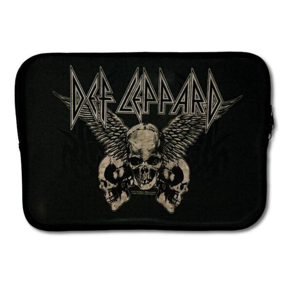 "Def Leppard - Laptopfodral 13"" - Flying Skulls"