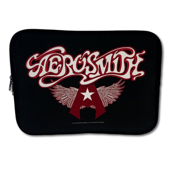 "Aerosmith - Laptopfodral 15"" - Flying A Logo"
