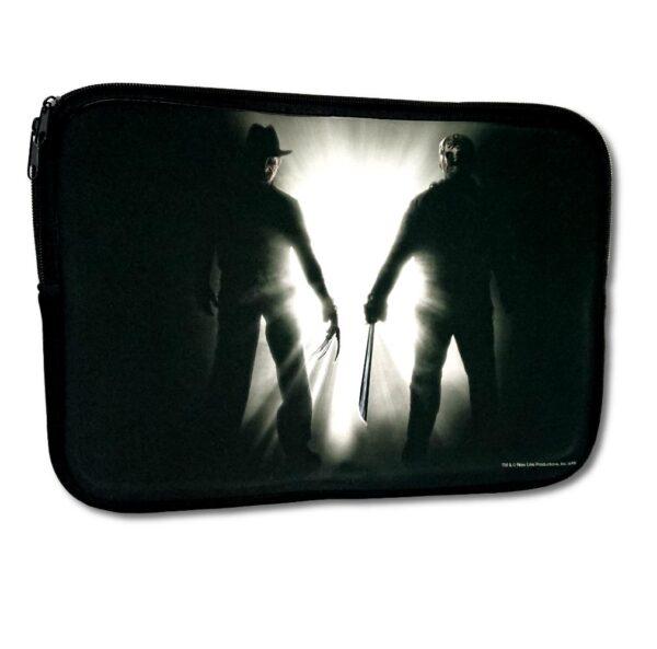 "Freddy Krueger vs Jason Voorhees - Laptopfodral - 15"""