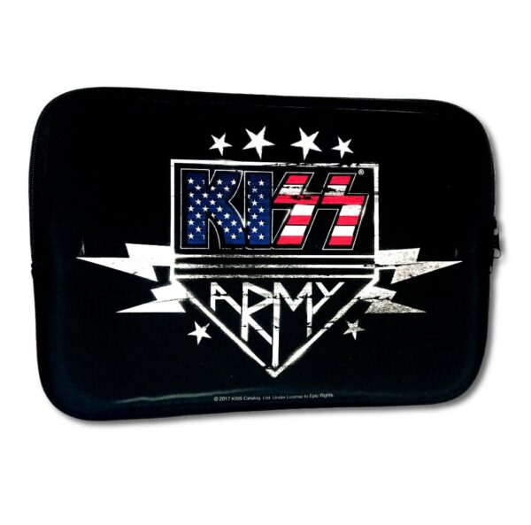 "Kiss - Laptopfodral 15"" - Kiss Army"