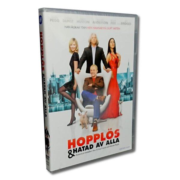 Hopplös & Hatad Av Alla - DVD - Komedi - Simon Pegg