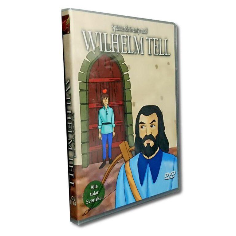 Wilhelm Tell – DVD – Tecknad barnfilm